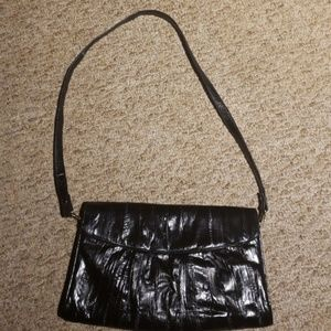 Vintage Genuine Eel skin bag